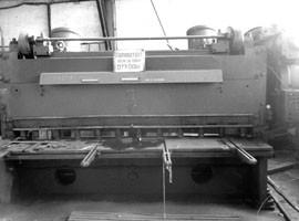 Ножницы гильотинные Н3222, 16/3150 мм.